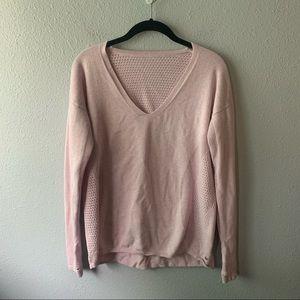 Blush Lululemon Sweater